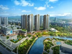 深圳丁山河畔新房楼盘效果图5
