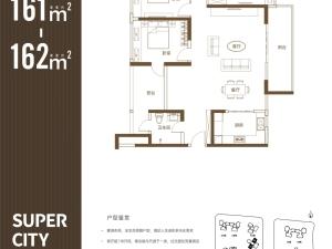 深圳保利勤诚达誉都新房楼盘户型图45