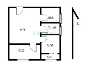 翡翠公寓 2室1厅 33.7㎡_深圳罗湖区翠竹二手房图片