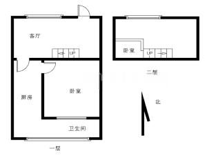 前海寓见 1室1厅 44.67㎡ 精装深圳宝安区曦城二手房图片