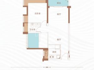 深圳丁山河畔新房楼盘户型图71