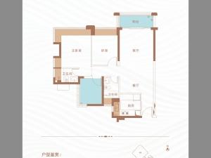 深圳丁山河畔新房楼盘户型图79