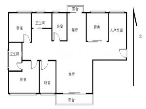 绿景蓝湾半岛 5室2厅 146.03㎡ 精装深圳福田区沙尾二手房图片