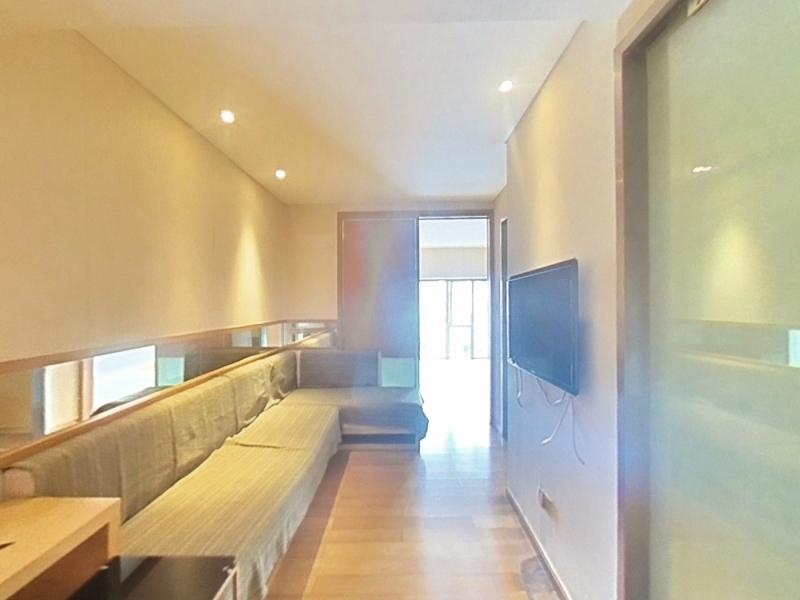 大中华金融中心 1室1厅 64㎡ 整租_大中华金融中心租房客厅图片1