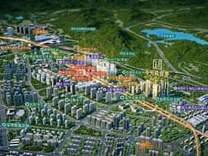 深圳龙光玖悦台新房楼盘交通图99