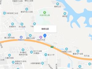 深圳锦顺名居新房楼盘交通图9